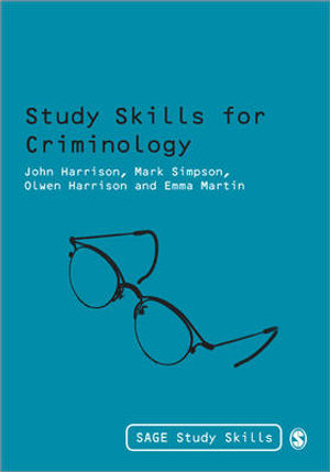 Cover of Study Skills for Criminology