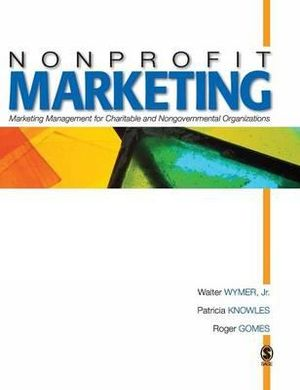 Cover of Nonprofit Marketing