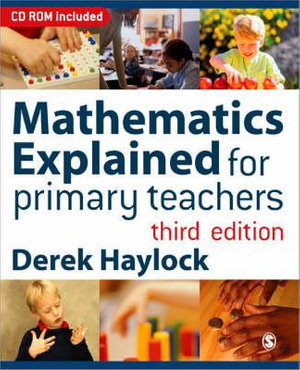 Cover of Mathematics Explained for Primary Teachers 3ed