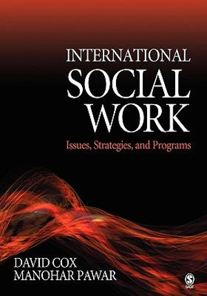 Cover of International Social Work: Issues, Strategies, and Programs