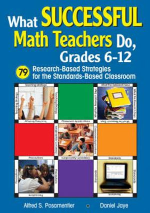 Cover of What successful math teachers do, grades 6-12