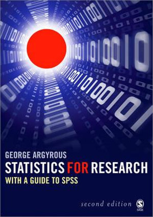 Cover of Statistics for Research