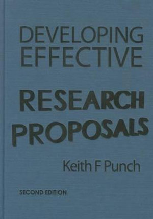Cover of Developing Effective Research Proposals