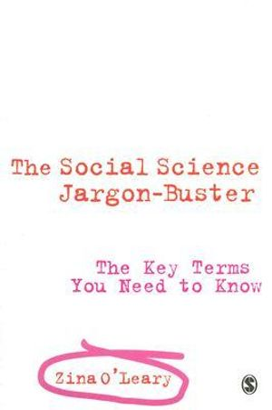Cover of The Social Science Jargon Buster