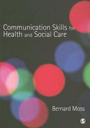 Cover of Communication Skills for Health and Social Care