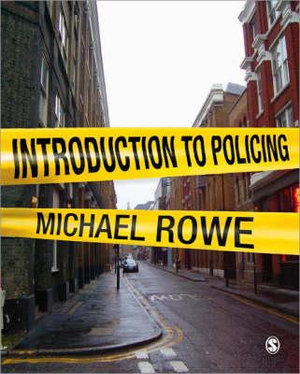 Cover of Introduction to Policing