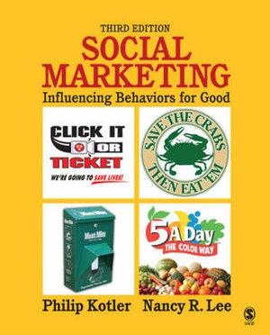 Cover of Social Marketing: Influencing Behaviors for Good 3ed