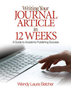 Cover of Writing Your Journal Article in Twelve Weeks