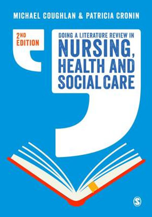 Cover of Doing a Literature Review in Nursing, Health and Social Care