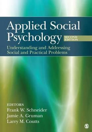 Cover of Applied Social Psychology