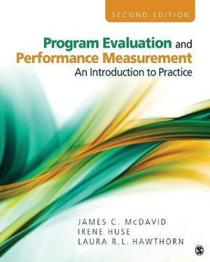 Cover of Program Evaluation and Performance Measurement
