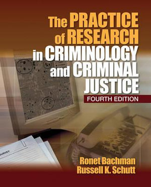 Cover of The Practice of Research in Criminology and Criminal Justice