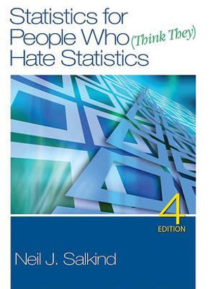 Cover of Statistics for People Who (Think They) Hate Statistics