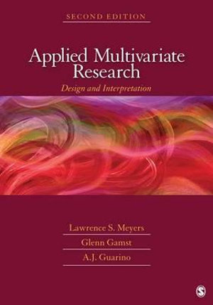 Cover of Applied Multivariate Research