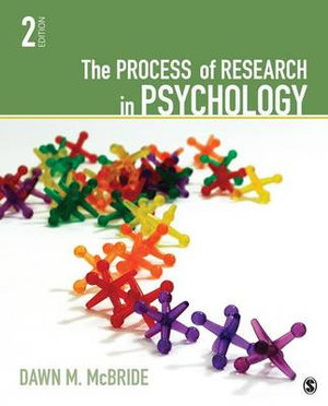 Cover of The Process of Research in Psychology