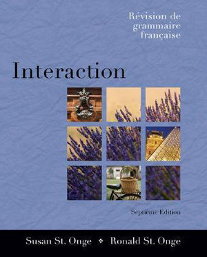 Cover of Interaction: Rivision de Grammaire Frangaise (with Audio CD) with CD (Audio)