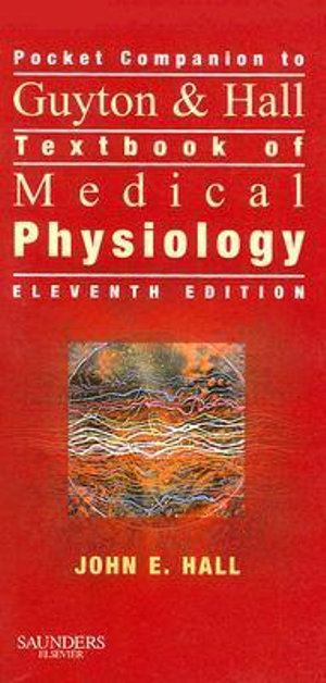 Cover of Pocket Companion to Guyton & Hall Textbook of Medical Physiology