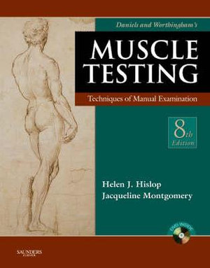 Cover of Daniels and Worthingham's Muscle Testing