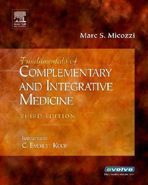 Cover of Fundamentals of Complementary and Integrative Medicine