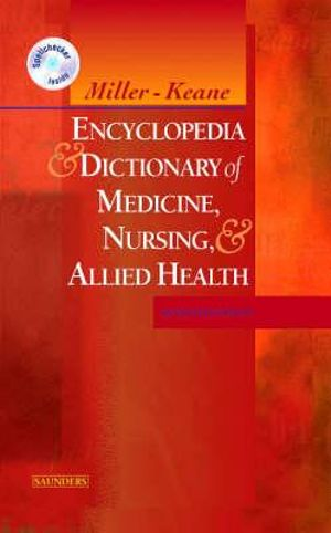 Cover of Encyclopedia and Dictionary of Medicine, Nursing, and Allied Health