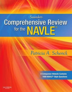 Cover of Saunders Comprehensive Review for the NAVLE