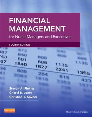 Cover of Financial Management for Nurse Managers and Executives