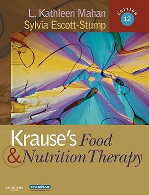 Cover of Krause's Food and Nutrition Therapy