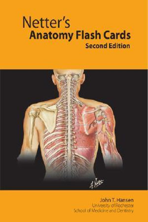 Cover of Netter's Anatomy Flash Cards