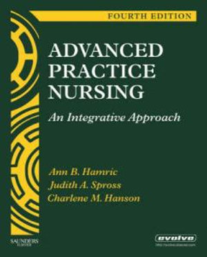 Cover of Advanced Practice Nursing