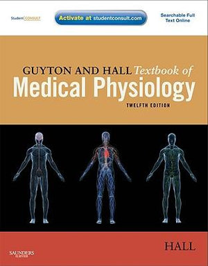 Cover of Guyton and Hall Textbook of Medical Physiology