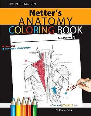 Cover of Netter's Anatomy Coloring Book
