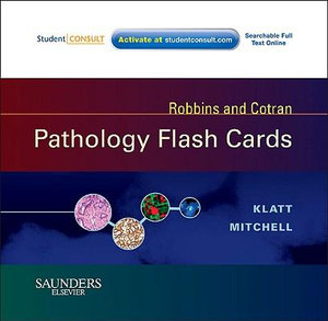Cover of Robbins and Cotran Pathology Flash Cards