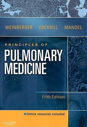 Cover of Principles of Pulmonary Medicine
