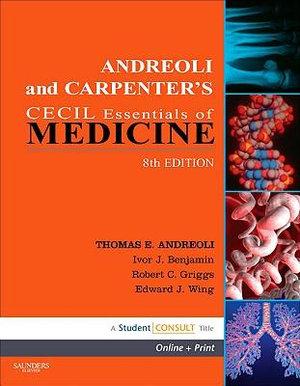 Cover of Andreoli and Carpenter's Cecil Essentials of Medicine
