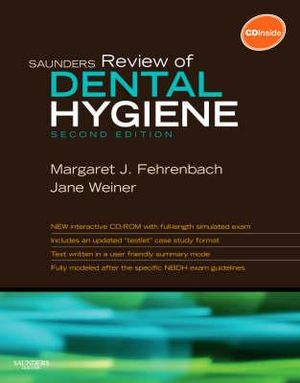 Cover of Saunders Review of Dental Hygiene
