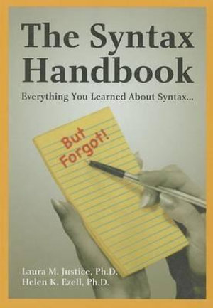 Cover of The Syntax Handbook