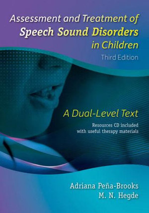 Cover of Assessment and Treatment of Speech Sound Disorders in Children