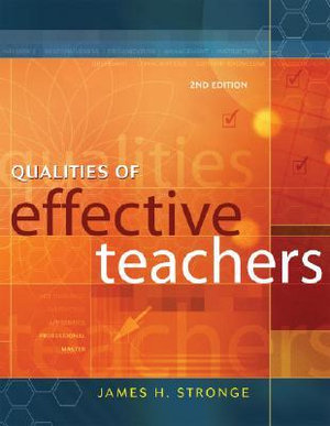 Cover of Qualities of Effective Teachers