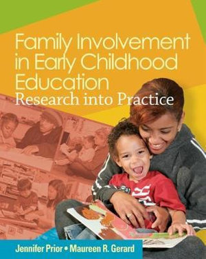 Cover of Family Involvement in Early Childhood Education: Research into Practice