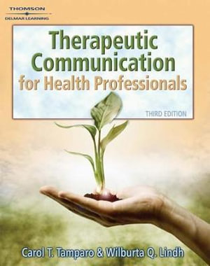 Cover of Therapeutic Communications for Health Care