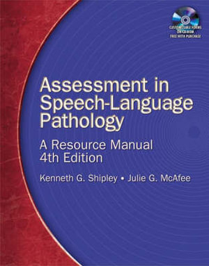 Cover of Assessment in Speech-Language Pathology: A Resource Manual