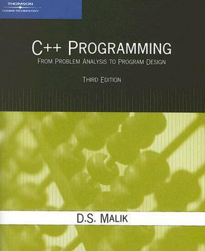 Cover of C++ Programming