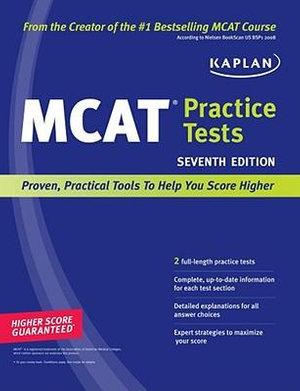 Cover of Kaplan MCAT Practice Tests