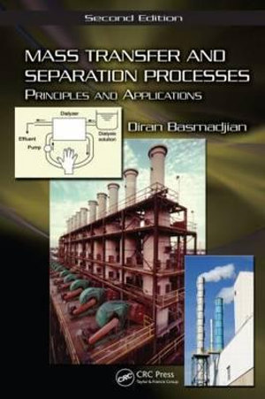 Cover of Mass transfer and separation processes