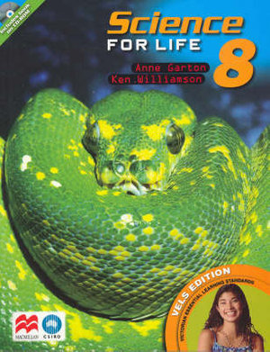 Cover of Science for Life 8