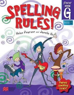 Cover of Spelling Rules!.