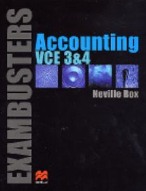 Cover of ExamBusters VCE Accounting