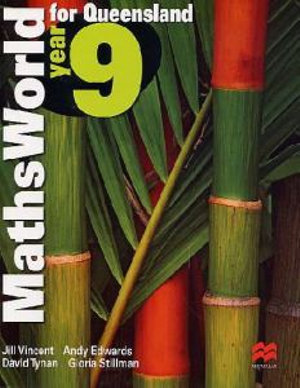 Cover of Maths World Year Eight for Queensland