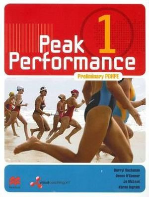 Cover of Peak Performance 1 Preliminary Personal Development, Healthand Phyiscal Education