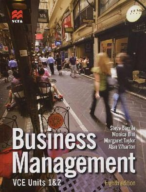 Cover of Business Management